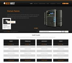 free html5 web template 50 best hosting website templates free premium freshdesignweb