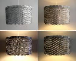 punched metal lamp shades classy drum design classics lighting mesmerizing  pendant lights with punch for your