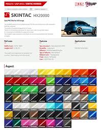 Vehicle Colour Change And Wraps A Selection Of Our Colours