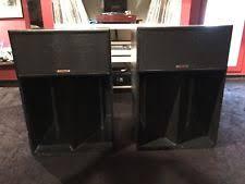klipsch old speakers. klipsch la scala speakers - excellent condition old h