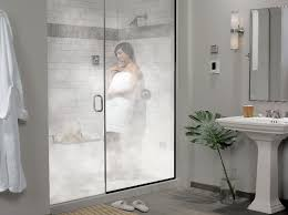 Imagine this: It's the end of a long day. You're tired, or achy, or just  want to chase away the winter chill. So you push a button in the shower  stall, ...