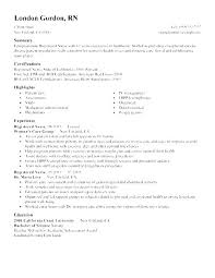 Resume Templates For Registered Nurses Custom Registered Nurse Resume Objectives Graduate Nursing Resume