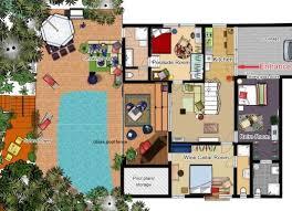 draw floor plan to explain inside