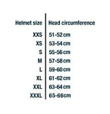 Shark Helmet Sizing Chart Bike Stuff Helmet Vespa
