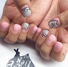 Sweet Cotton Candy Nail Colors and Designs | Pusheen cat, Cat ...