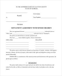 child visitation agreement form child support and visitation agreement template emsec info