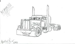 peterbilt coloring pages go back gallery for coloring pages peterbilt semi truck coloring pages