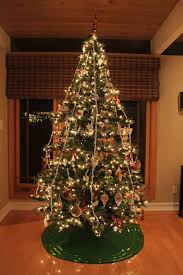 Christmas tree mid-century modern