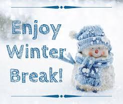 Enjoy your winter break! December 23rd... - Garfield Heights City Schools |  Facebook