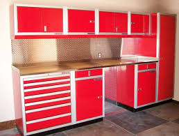 metal garage storage cabinets. metal garage storage cabinets offer the durability and sturdy protection » red \u0026 white g