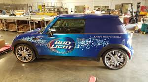 Bud Light Car Decal Budlight Driving Campaign