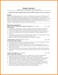 10 Paralegal Resume Objective Examples Address Example