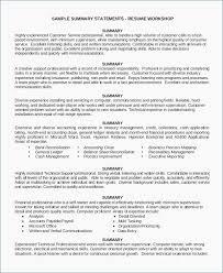 Customer Service Skills Resume Best Customer Service Resume Skills