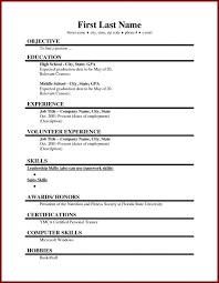 Retail Resume No Experience First Job Resume No Experience Thatretailchick Resume