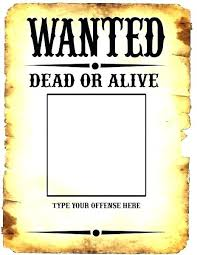Make A Wanted Poster Free Online Most Wanted Template Free Poster Generator Download Pleasant