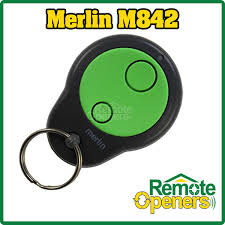 m842 merlin garage door remote control handset 430r 230 x1 merlin