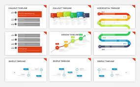 Project Timeline V5 - Powerpoint Template #68588