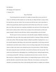 final reflection essay ms belefonte ap english final 2 pages division and classification essay
