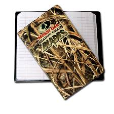 our jr tally book designed with the 3d mossy oak pattern our quality tally books are strong and rugged includes 200 page filler and 1 color imprint