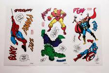 Декоративные <b>наклейки</b> на стены Marvel с доставкой из ...