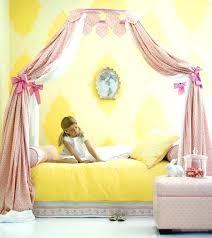 Little Girl Canopy Bed Curtains Girls Princess Ideas