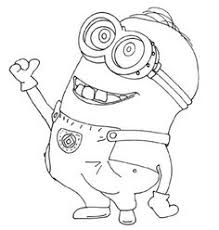 Small Picture A beautiful coloring page with the characters of Despicable Me 2