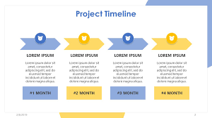 Power Point Time Line Template Free Powerpoint Templates Project Timelines Roadmap Timeline