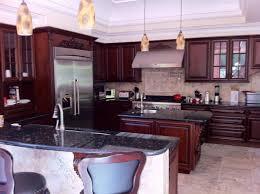 cherry kitchen cabinets photo gallery. Woodward Kitchen \u0026 Bath - KITCHEN GALLERY Cherry Cabinet With Emerald Pearl Granite Cabinets Photo Gallery