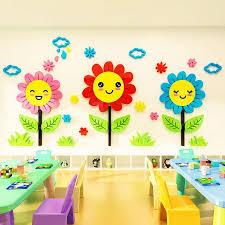 flower pattern wall stickers lovely