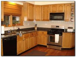 oak color cabinets. Fine Cabinets Recommended Kitchen Color Ideas With Oak Cabinets Home For P
