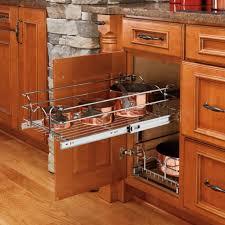 photos kitchen cabinet organization: rev a shelf pull out  tier wire basket kitchen cabinet organizers