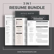 Modern Executive Resume Template Editable Professional Resume Bundle 2019 Cover Letter Simple Cv Template Office Word Resume Creative Modern Resume Design Mac Pc Instant
