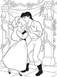 Small Picture the little mermaid coloring pages ariel and eric Keanuvillecom