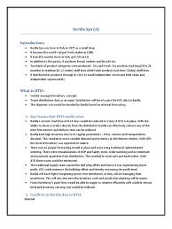 barilla spa case summary inventory distribution business