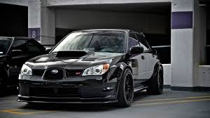 subaru brz black wallpaper. black subaru impreza wrx sti in the parking lot wallpaper 1920x1080 jpg brz