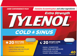 Tylenol Cold Dosage Chart Tylenol Cold Sinus