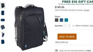 Ll Bean Backpack Size Chart Complete List Of Maximum Size Carry On Bags 2019 Update