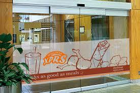 xprs glass door design