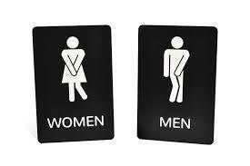 engraved funny bathroom signs bathroom sign i99 sign