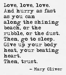 Mary Oliver Love Poems Simple Mary Oliver Love Quotes