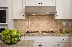 Ceramic or Porcelain Tile Backsplash