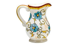 Decorative Ceramic Pitchers Duomo Decorative Ceramic Water Filtration Pitcher 6060 DUO 26