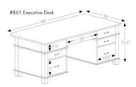office desk size. Office Desk Sizes Typical Height Large Size Of Excellent Standard Popular