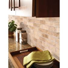 travertine tile home depot inspirational msi ivory 3 in x 6 in honed travertine floor and