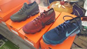 nike outlet shoes. pickupnike factory outlet pickup. 3 vapormax shoes for $42 each. they\u0027re samples shoes. nike