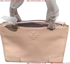 very popular women handbag tory burch ella logo in center of the light oak color leather with canvas sides tote lxfiqva0