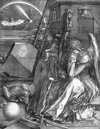 melencolia i is a 1514 engraving by the german renaissance master albrecht dürer it is an allegorical composition which has been the subject of many