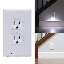 Nắp đậy ổ cắm điện gắn tường có đèn led tiện lợi chất lượng
