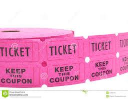 raffle tickets background stock photo image  roll of raffle tickets on white royalty stock photography