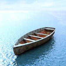 wooden boat 3d model low poly max obj mtl fbx lwo lw lws ma mb